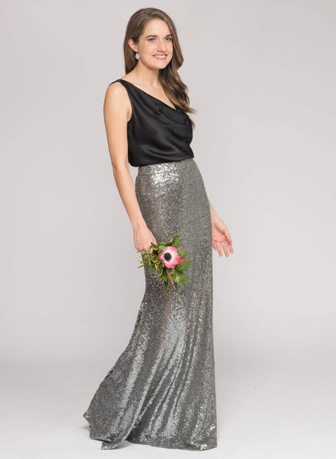 Charcoal Sequin