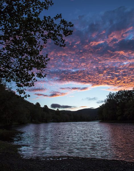 Sunrise on the Greenbrier River