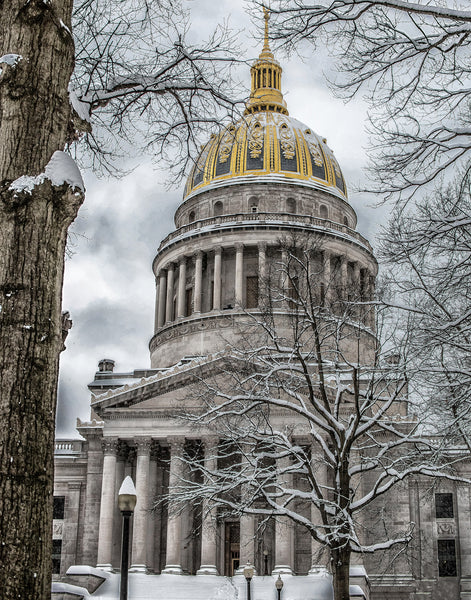Winter, West Virginia State Capitol