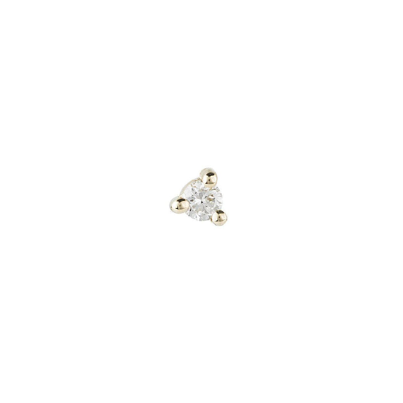 1.5 mm Diamond Dot Stud (Single)