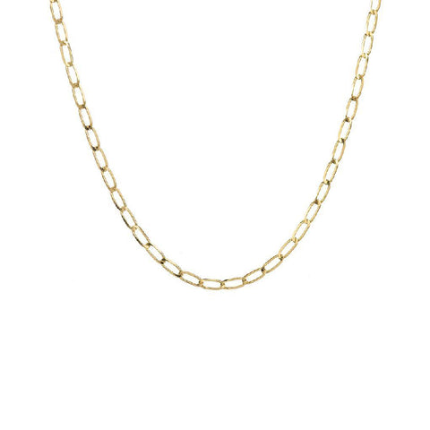 14K Large Link Open Figaro Chain