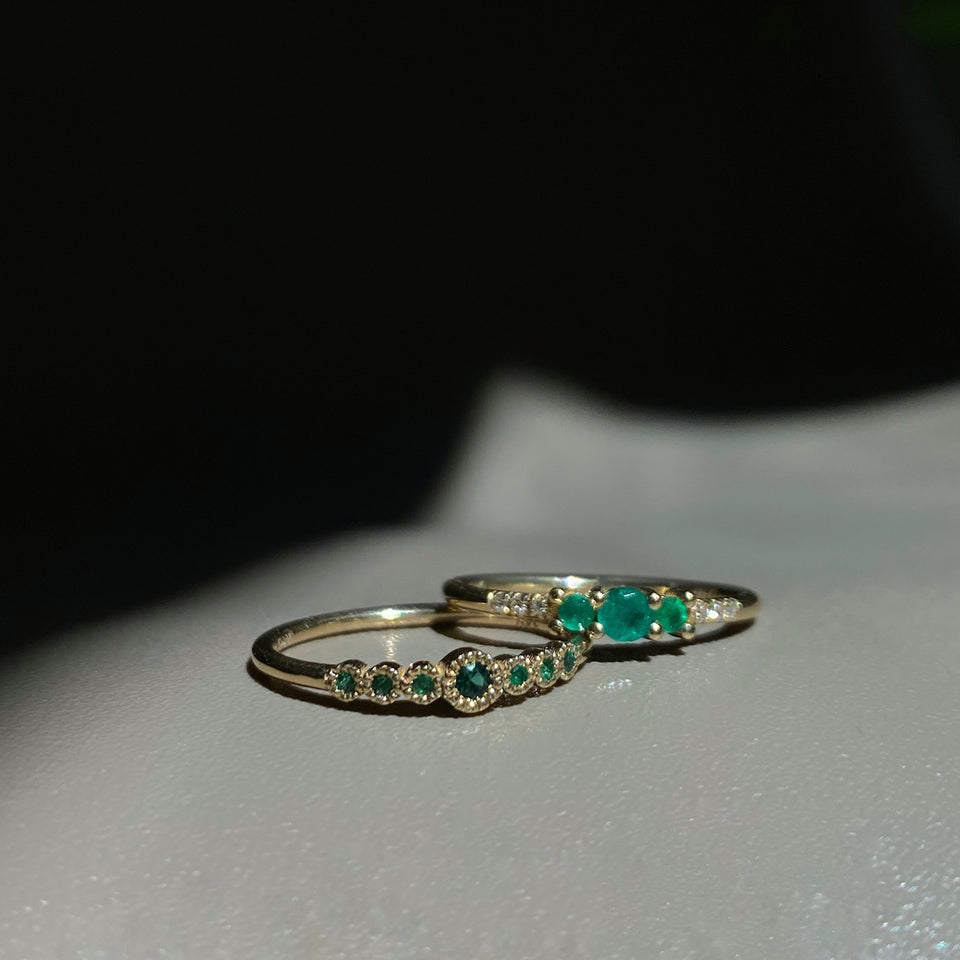 EMERALD JOURNEY RING
