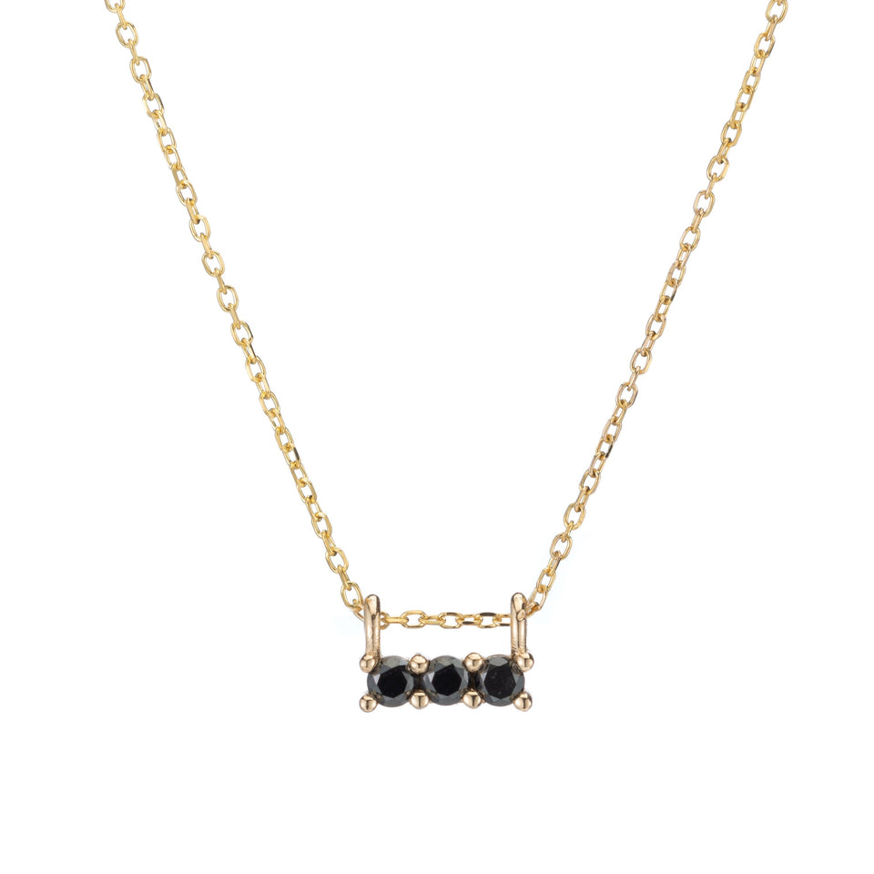 BLACK DIAMOND 3S NECKLACE