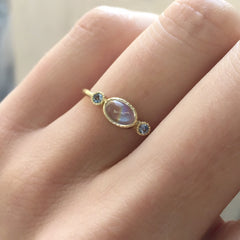 Moonstone Reese Ring