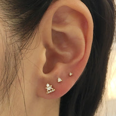 2MM DIAMOND DOT STUD (SINGLE)