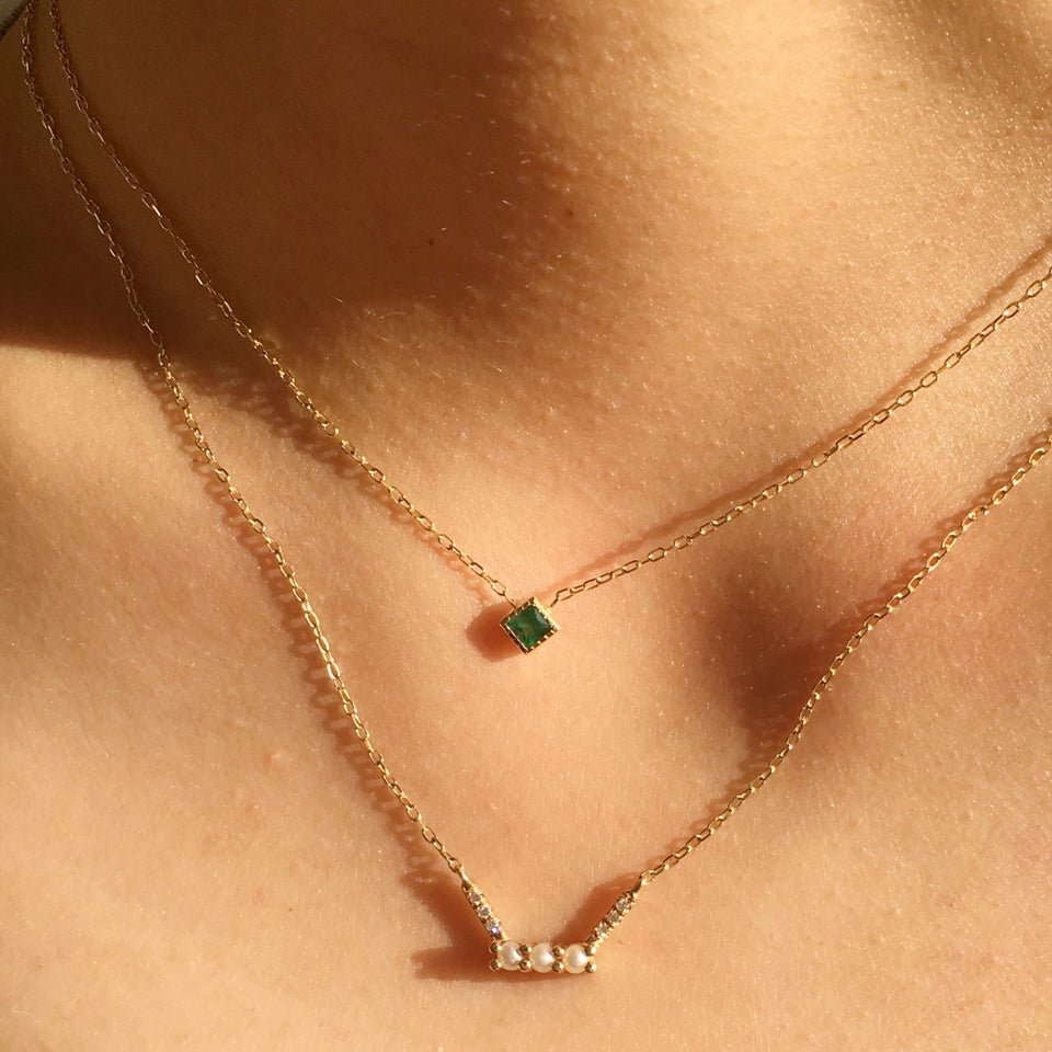 PC Emerald Necklace