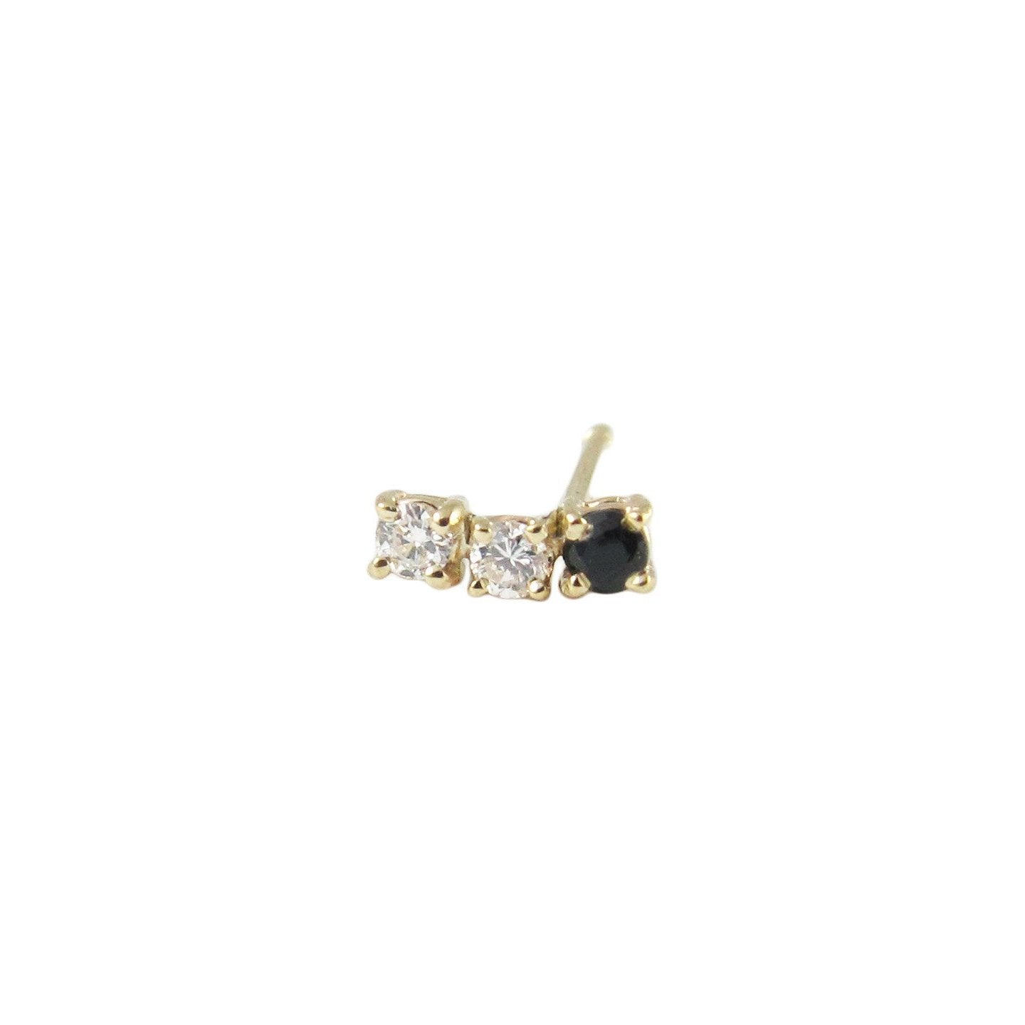Black Diamond Accent Stud