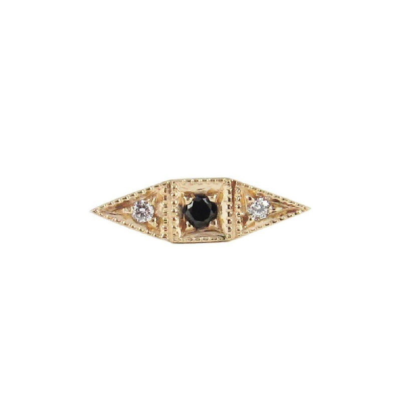Black Diamond Deco Point Long Stud (Single)