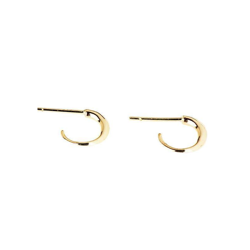 Claw Hoop Earrings (Pair)