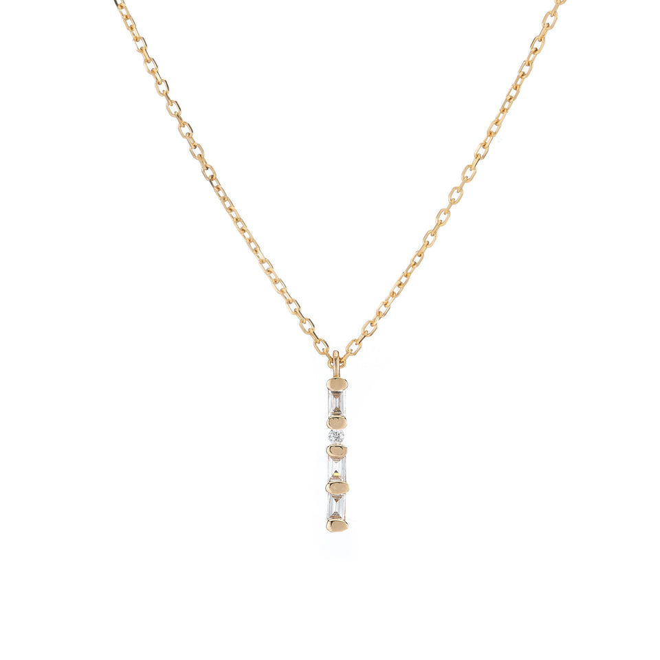 DIAMOND SOLITUDE NECKLACE