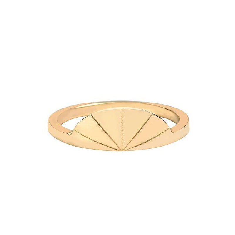 Deco Fan Ring