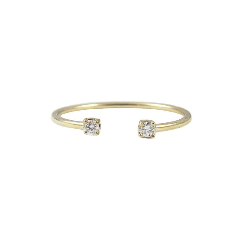 Diamond Accent Cuff Ring