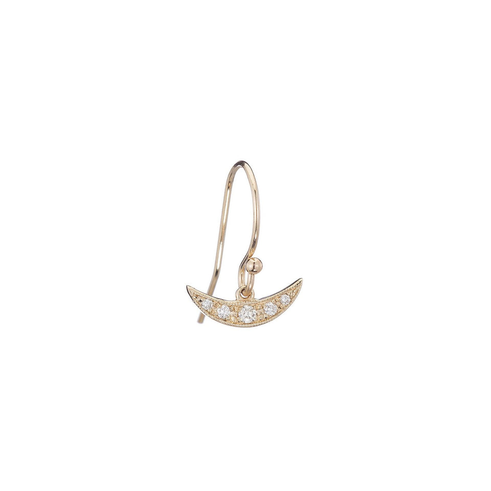 Diamond Balance Earring (Single)