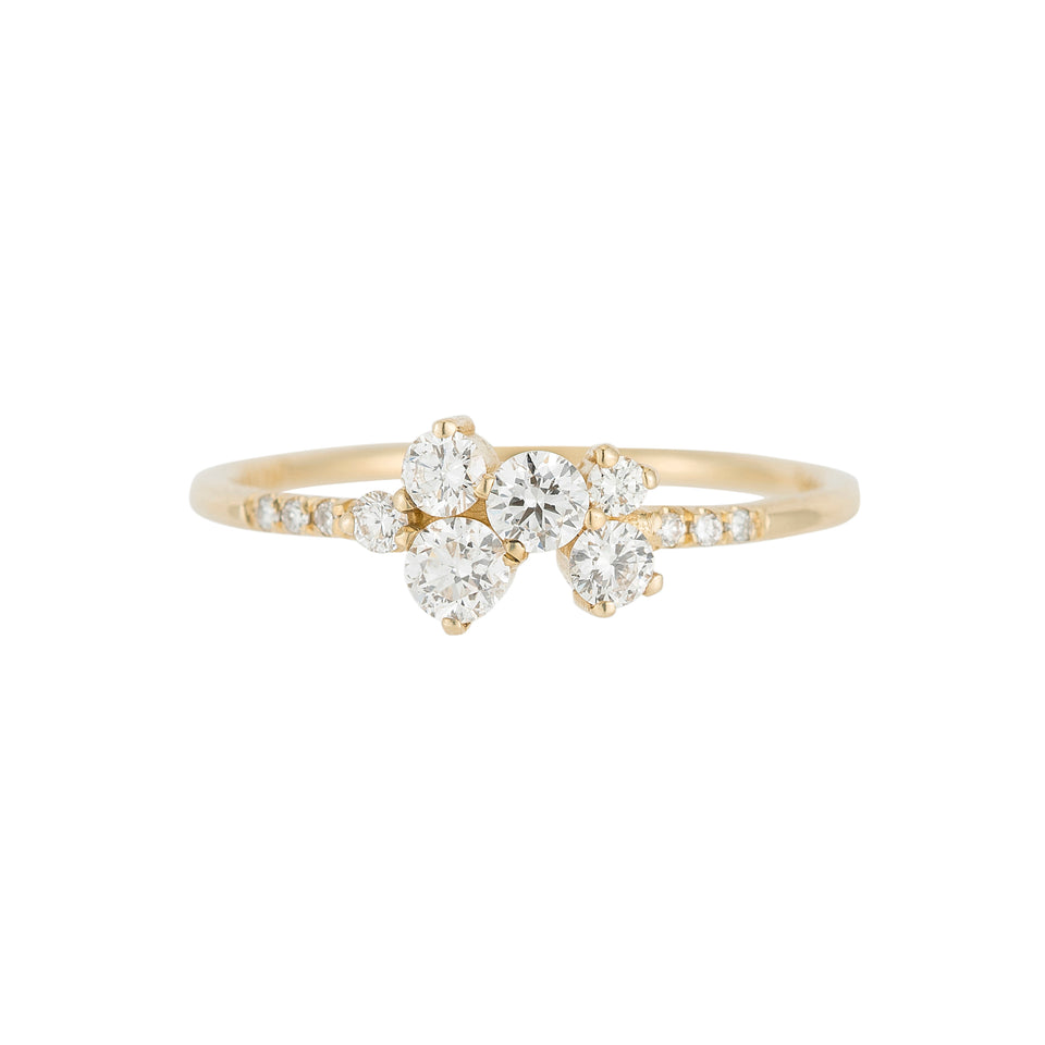 Diamond Bubble Equilibrium Ring