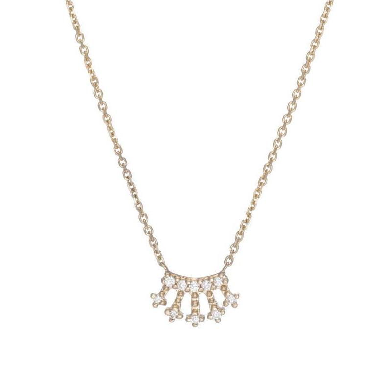 pendant crown zoe necklace usa belle little products
