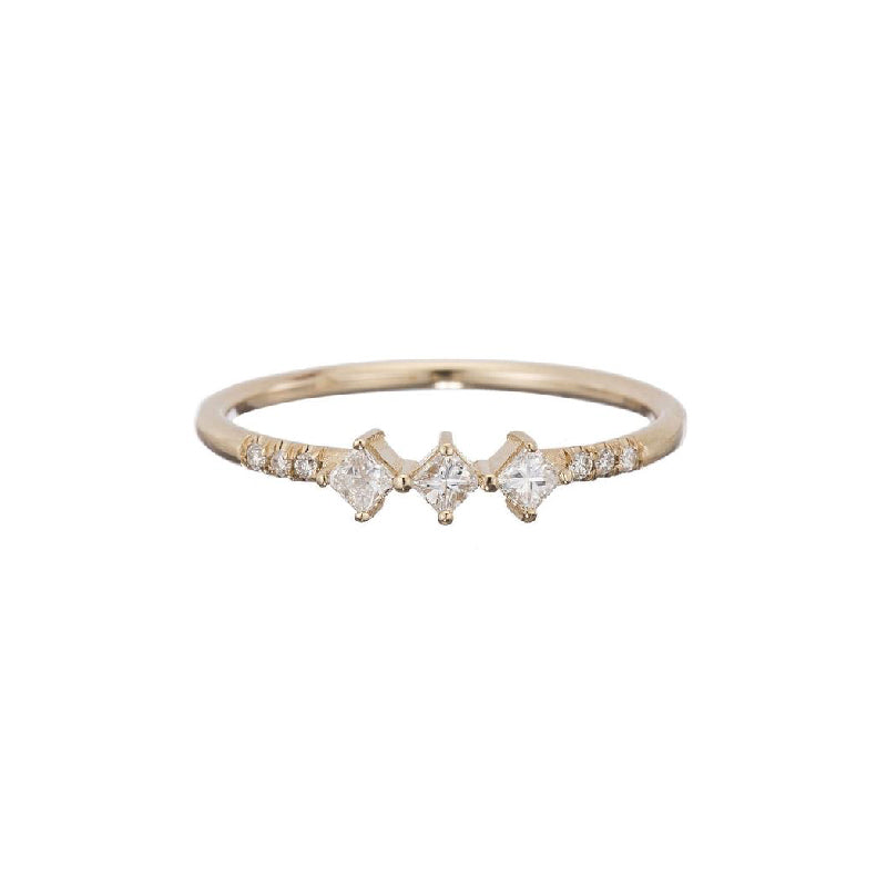 Diamond Harmony Ring