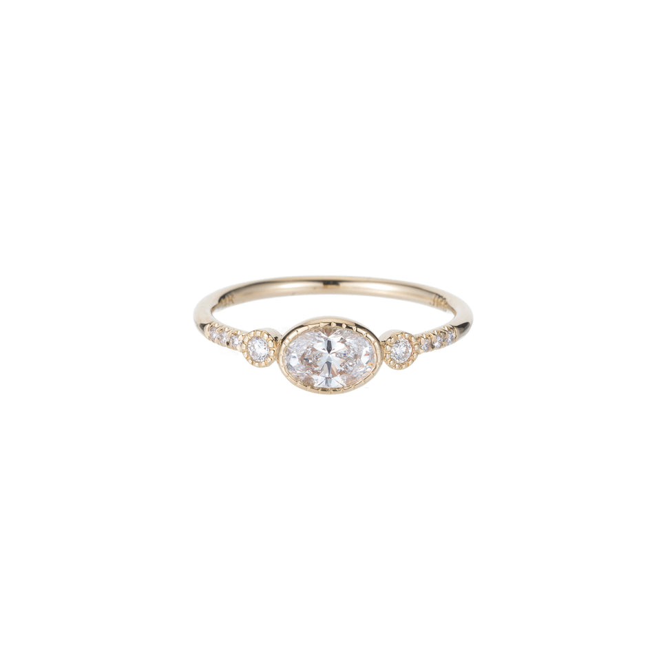 Diamond Reese Equilibrium Ring