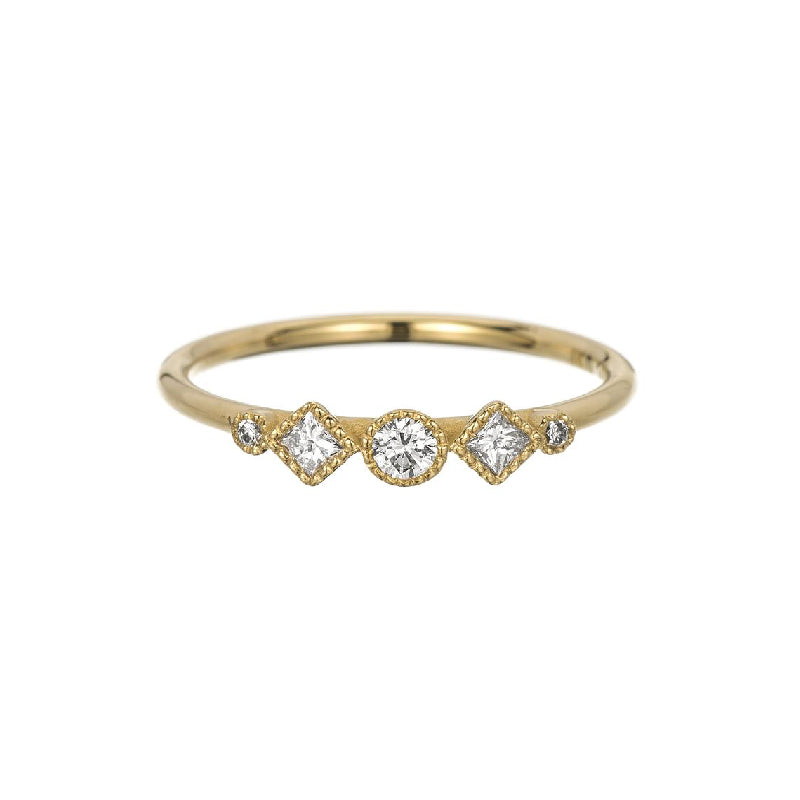 Diamond Sonata Ring