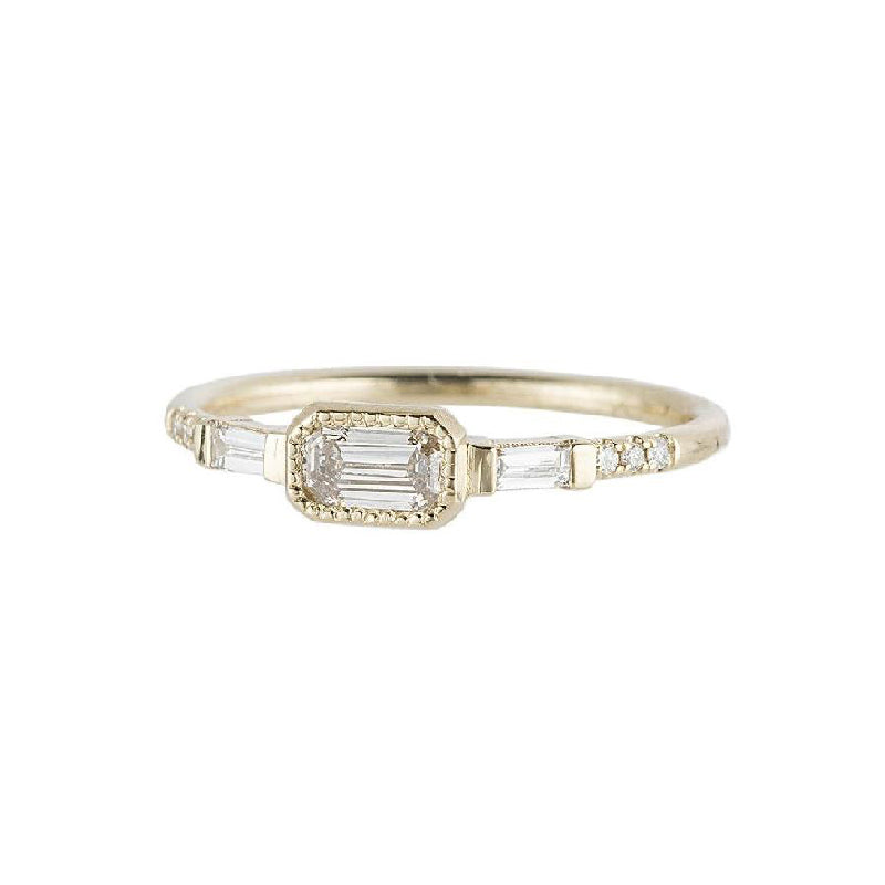 Diamond YS Baguette Ring