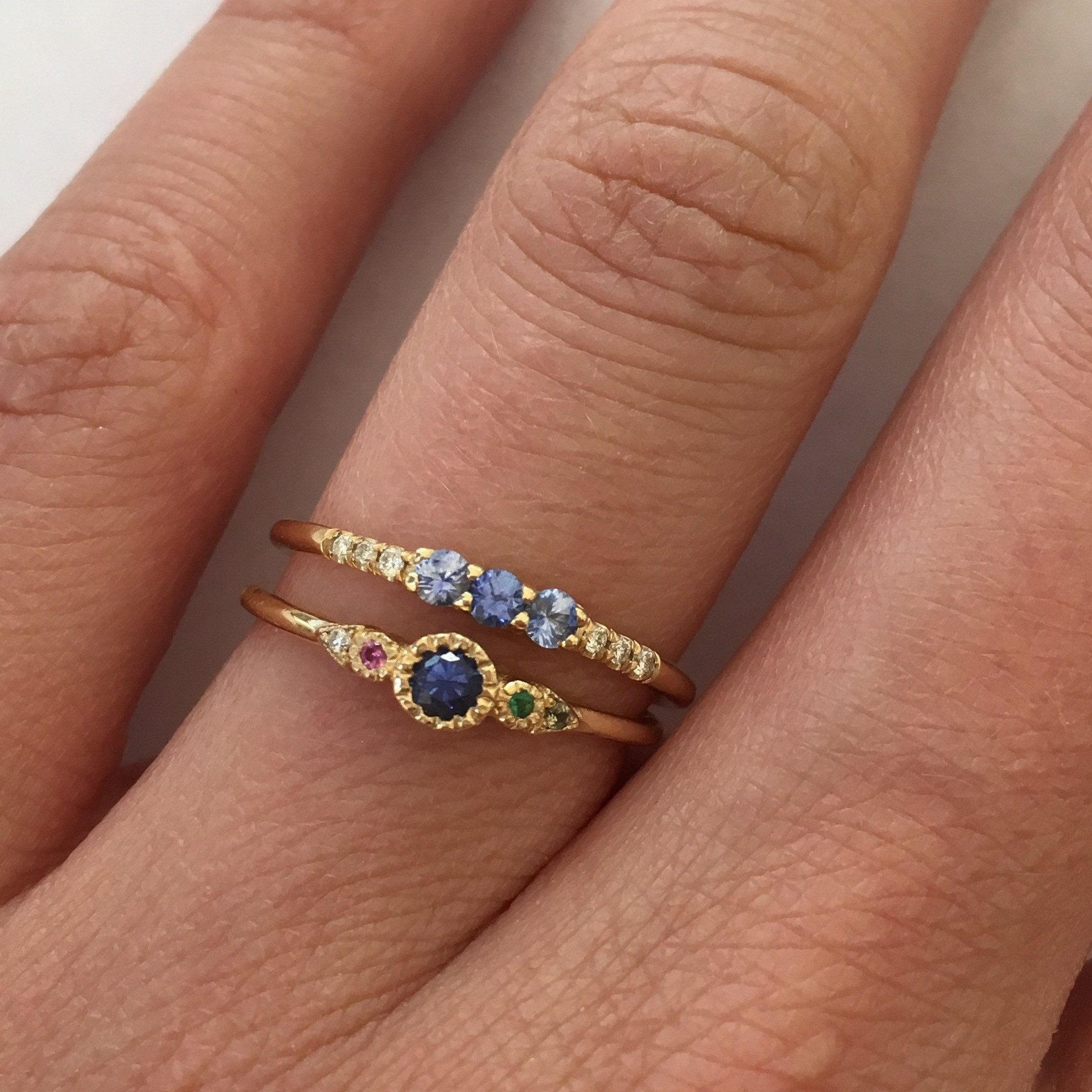 SAPPHIRE JOURNEY RING