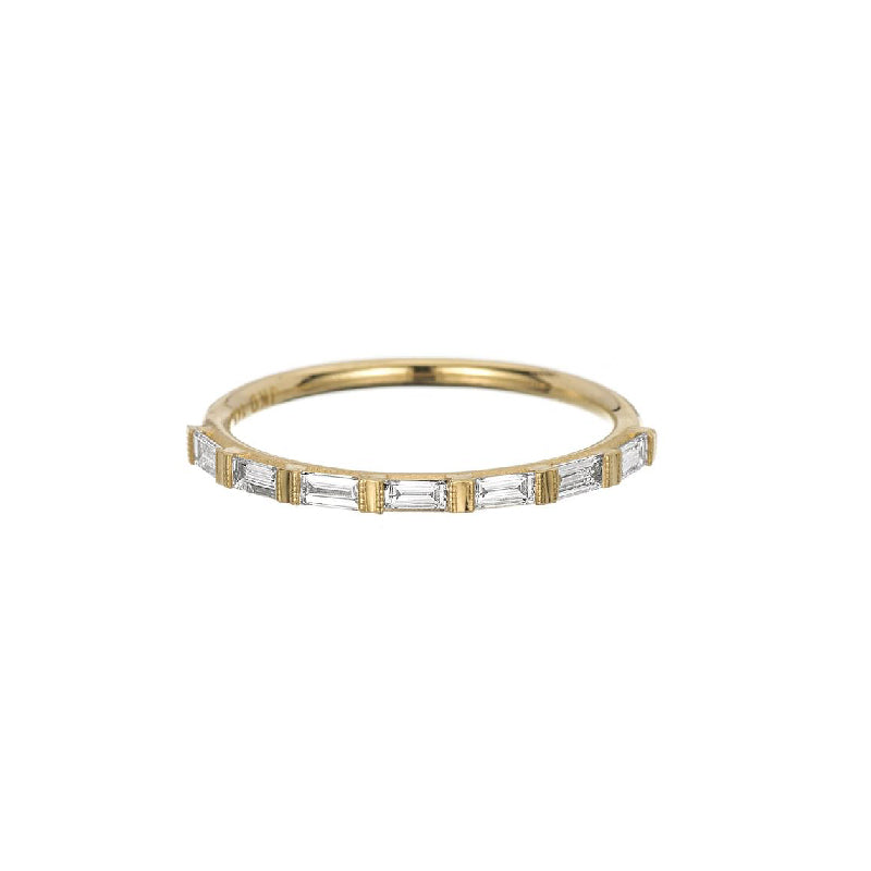 Half Eternity Baguette Ring