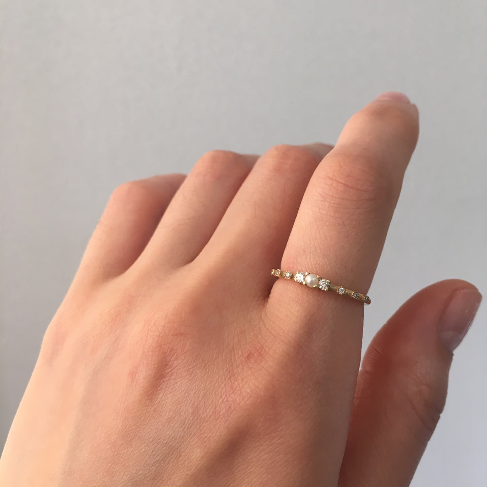 Pearl Beacon Ring
