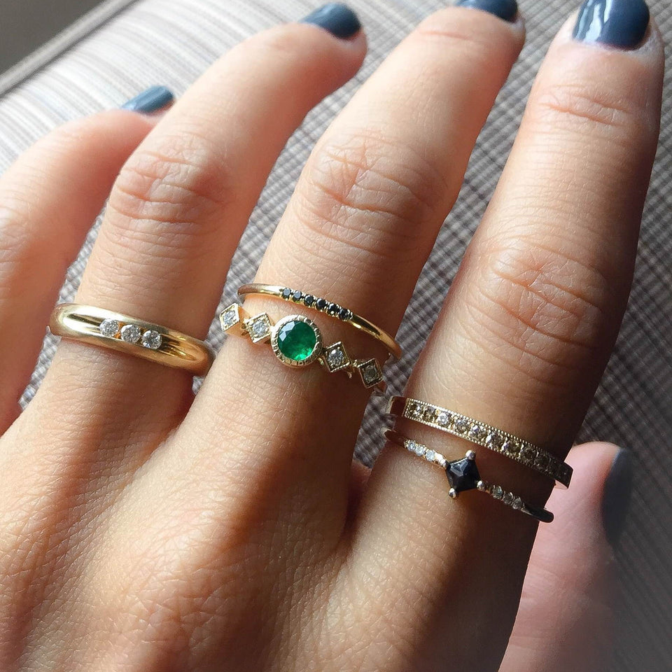 Emerald Echo Ring