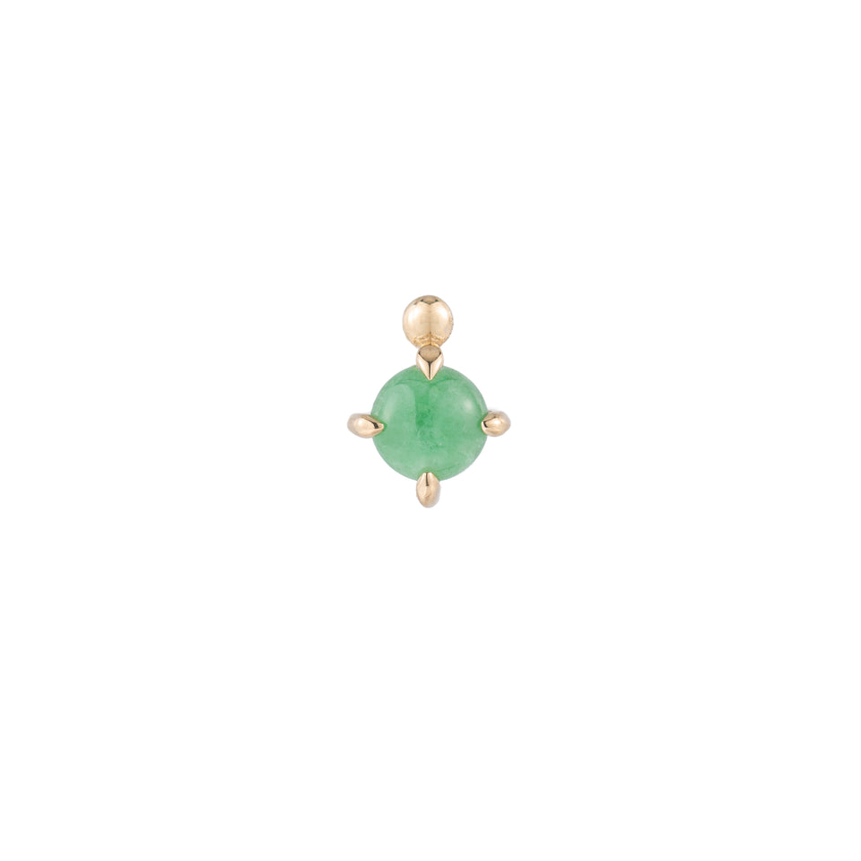 JADEITE STUD (SINGLE)