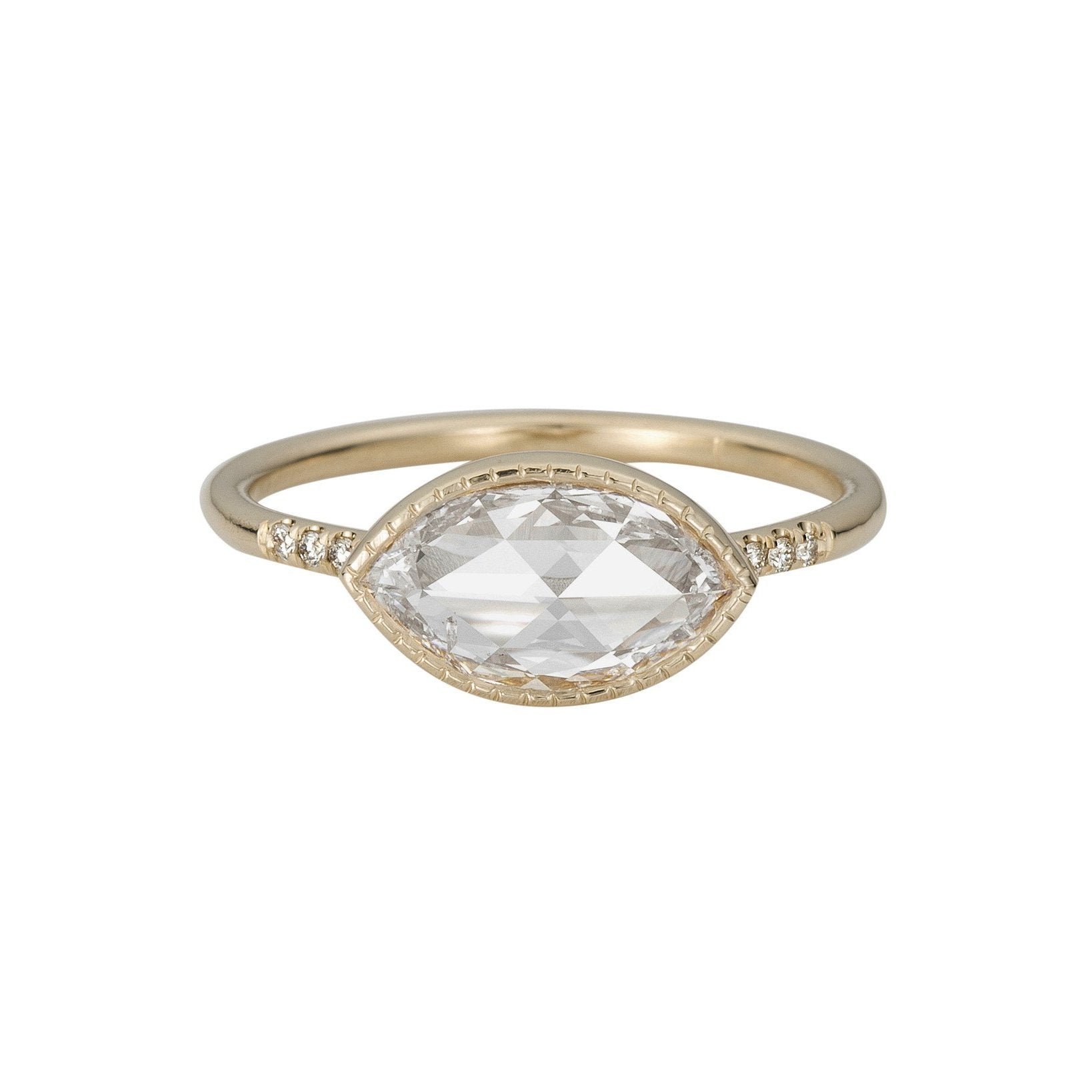 ring vintage gemstone with ways set marquise sz exquisite accents dsc ctw products bezel diamond
