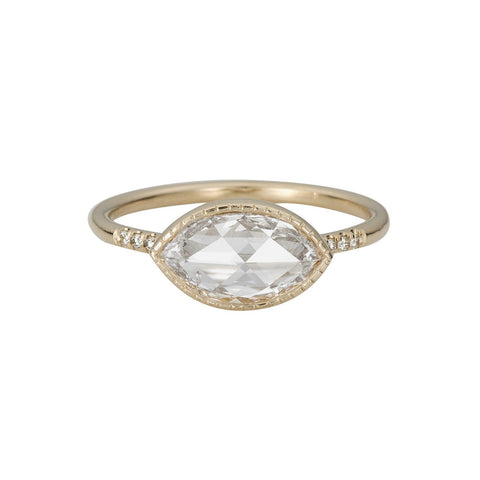 RC MARQUISE DIAMOND EQUILIBRIUM RING