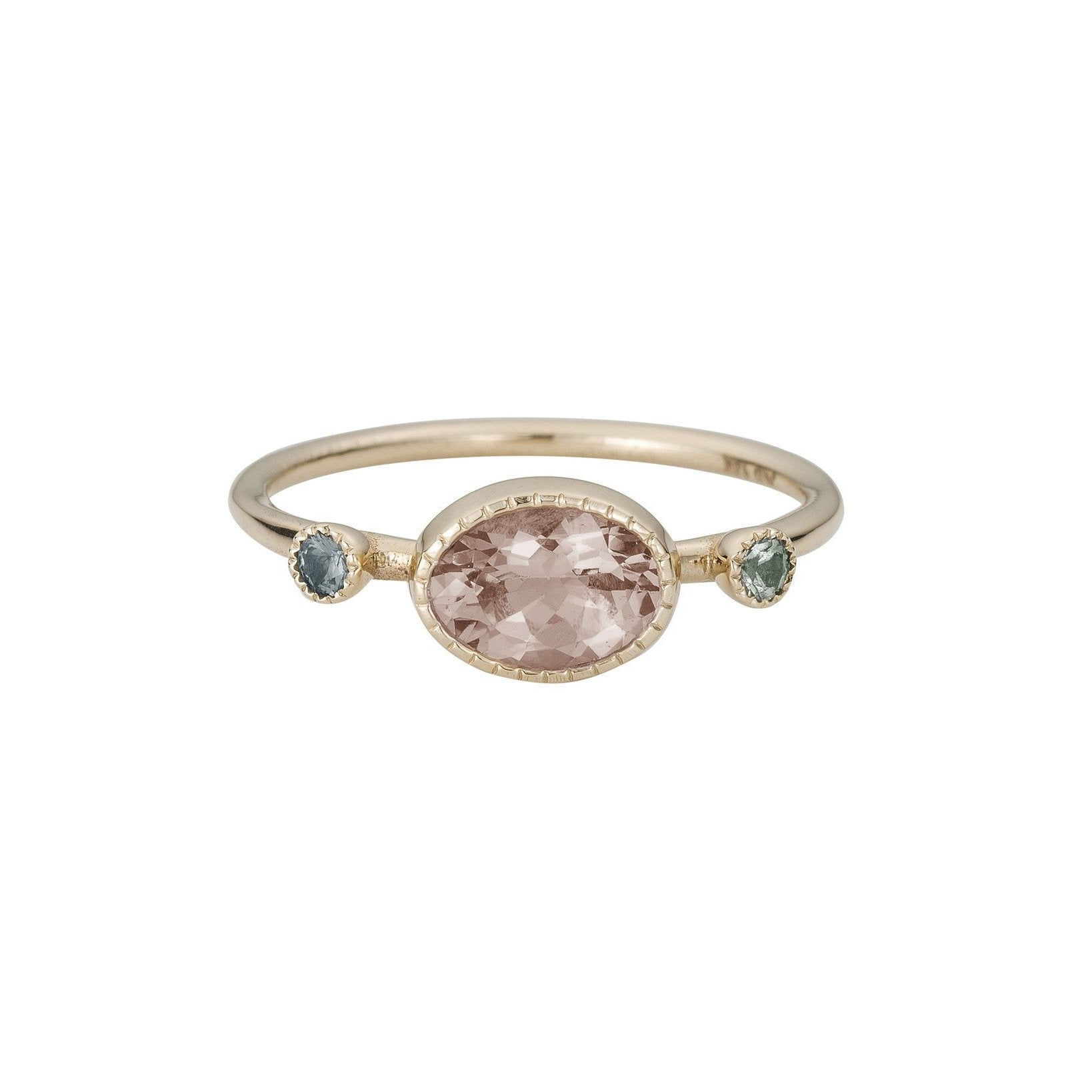 MORGANITE GS RING