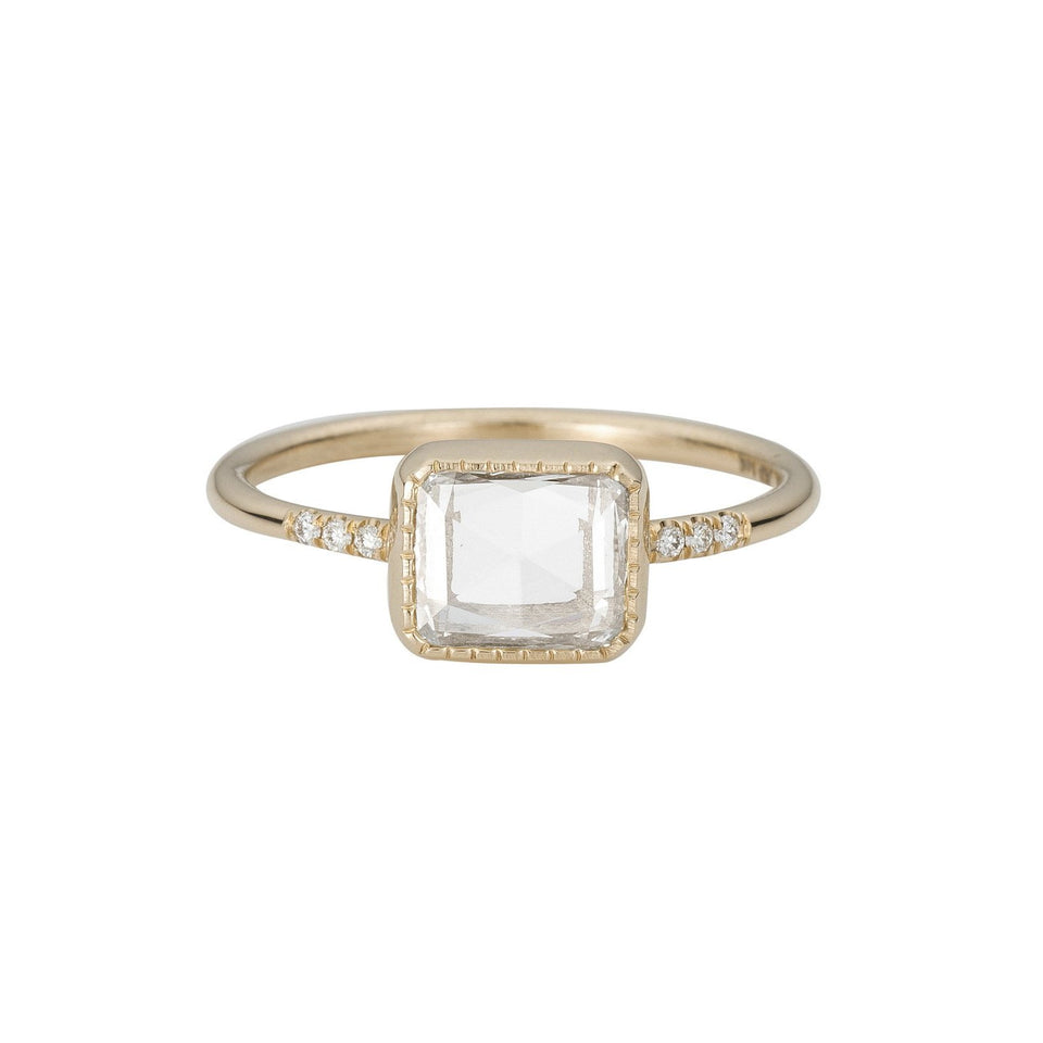 Square RC Diamond Equilibrium Ring
