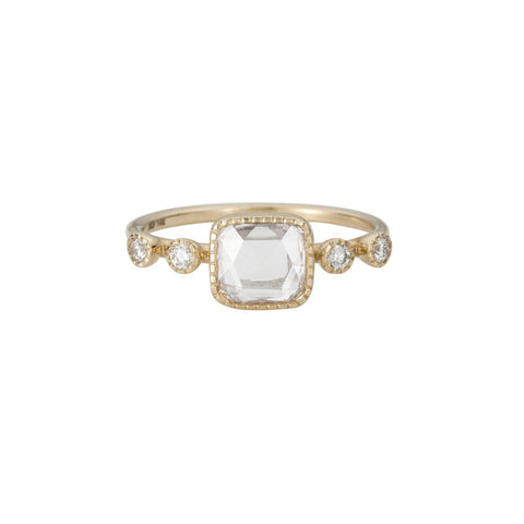 RC SQUARE DIAMOND DEW RING