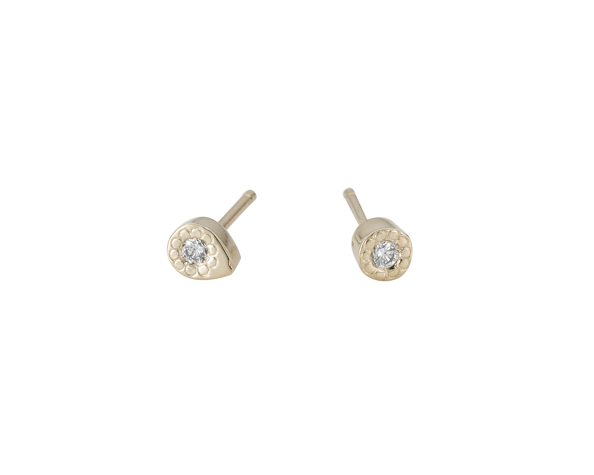MILLI ROUND DIAMOND STUD (SINGLE)