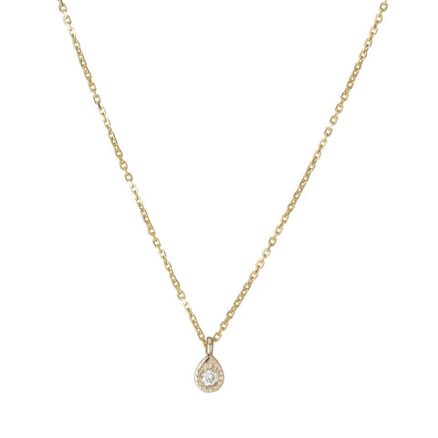 MILLI TEARDROP DIAMOND NECKLACE