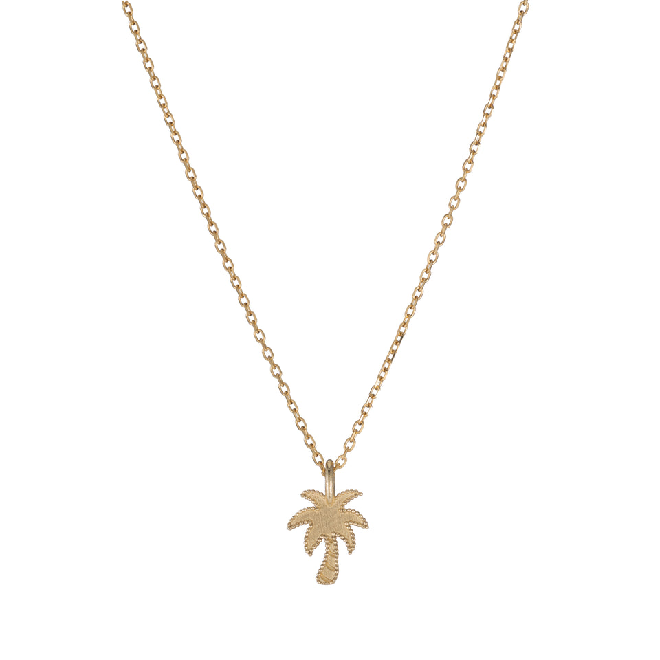 Beaded Palm Tree Necklace