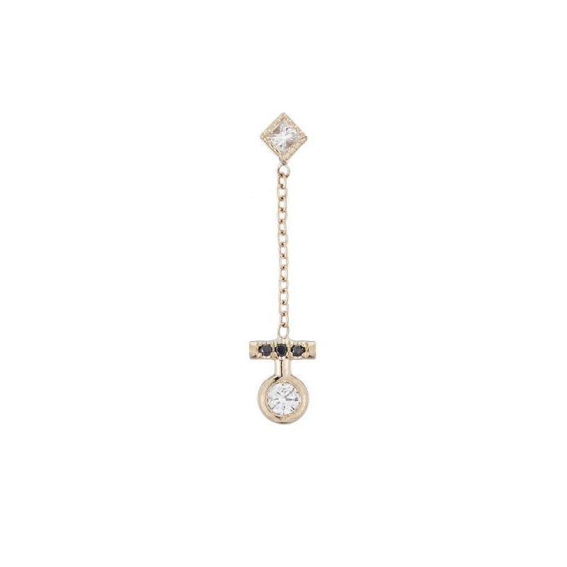 Diamond Evolution Earring (Single)