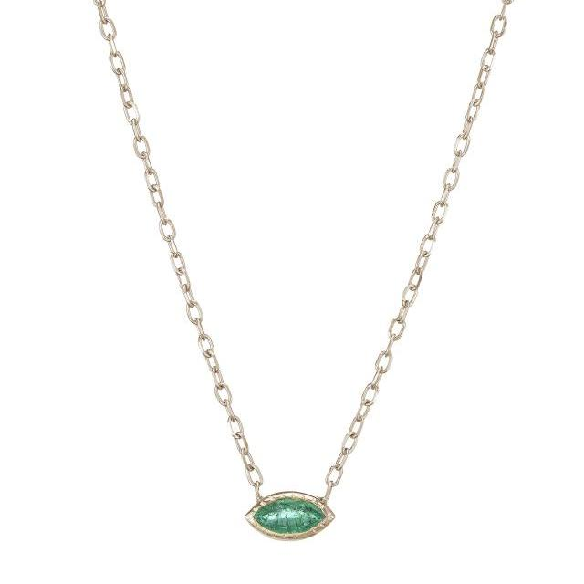 dainty, emeralds, necklaces, fine jewelry, layering