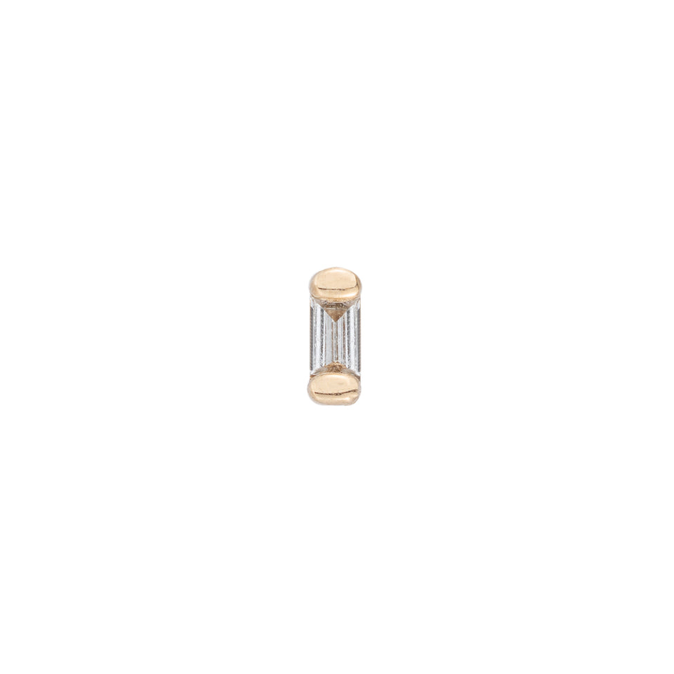 MINI BAGUETTE STUD (SINGLE)