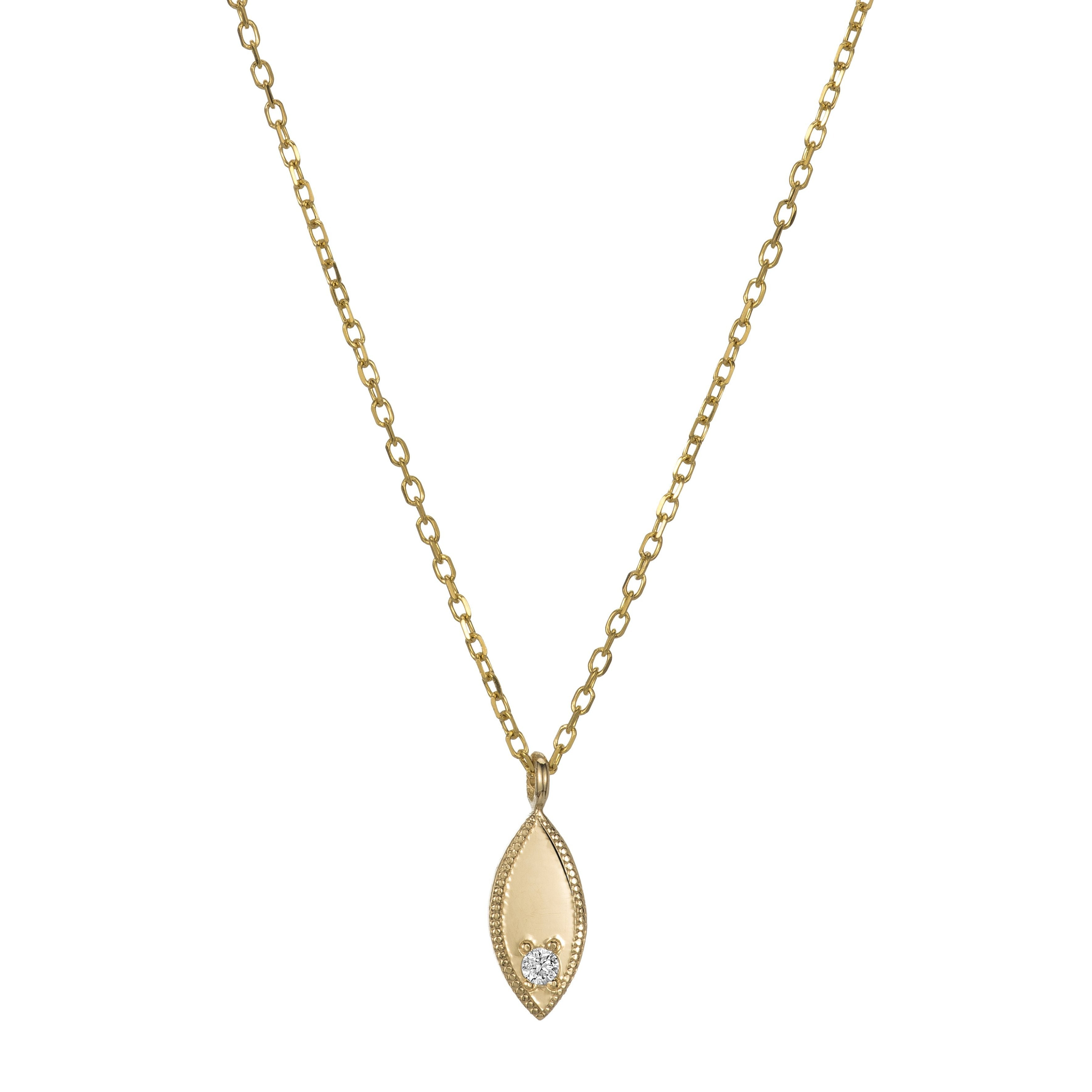 gold retail diamond marquise pendant l set necklace bezel