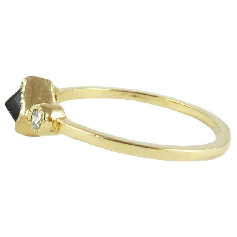 BLACK DIAMOND IKE RING
