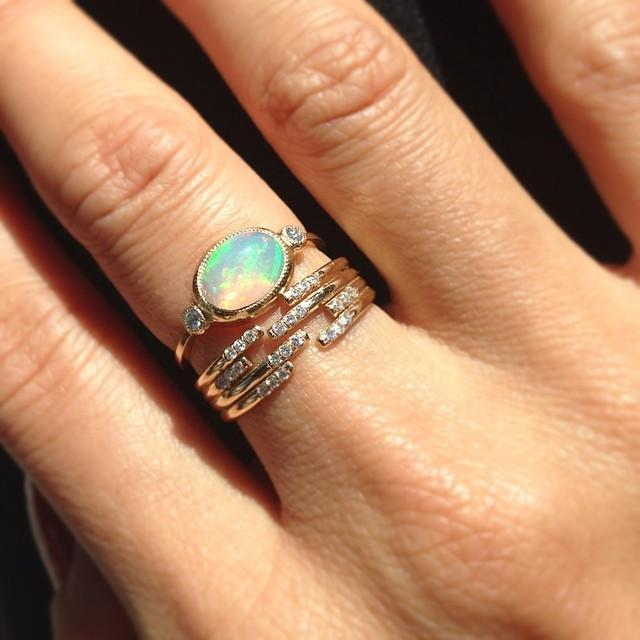 OPAL REESE RING