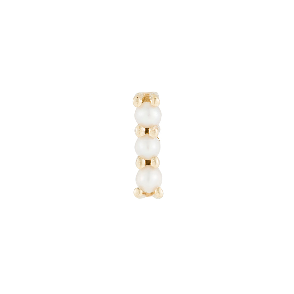 Pearl Bar Stud (Single)