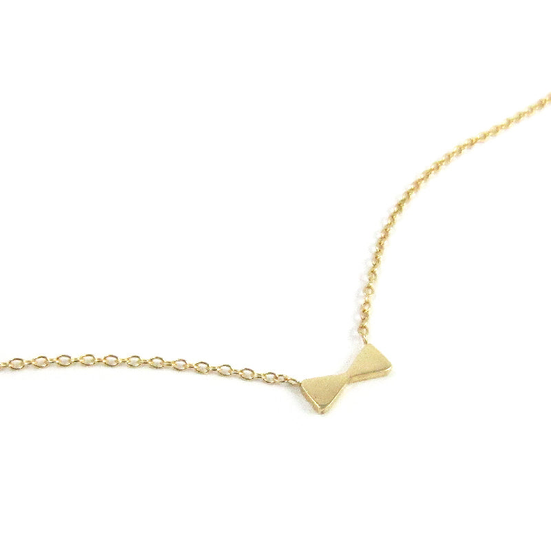Petite Bow Necklace