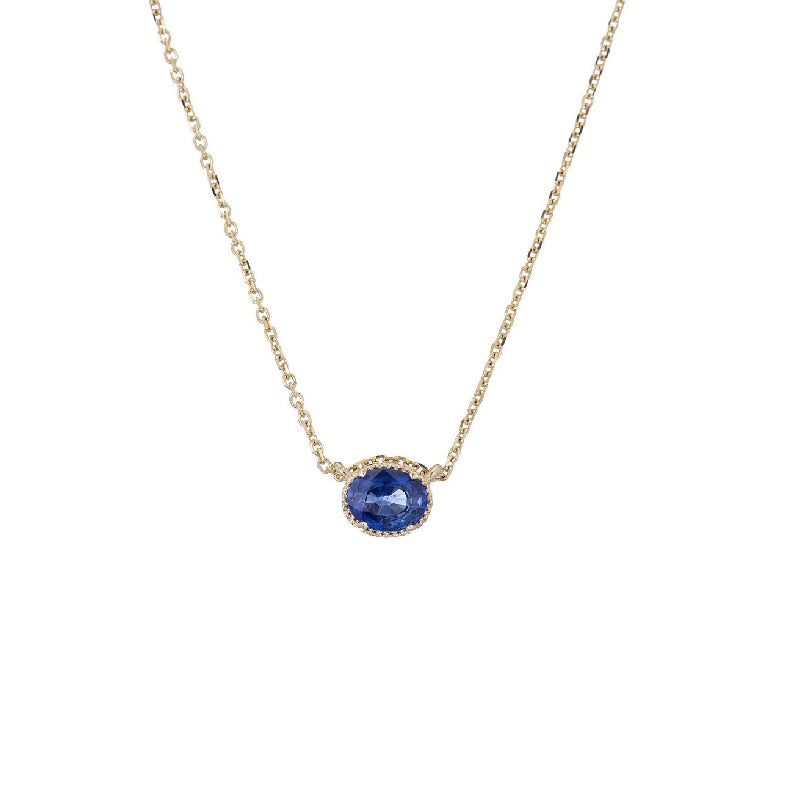 Sapphire Hope Necklace