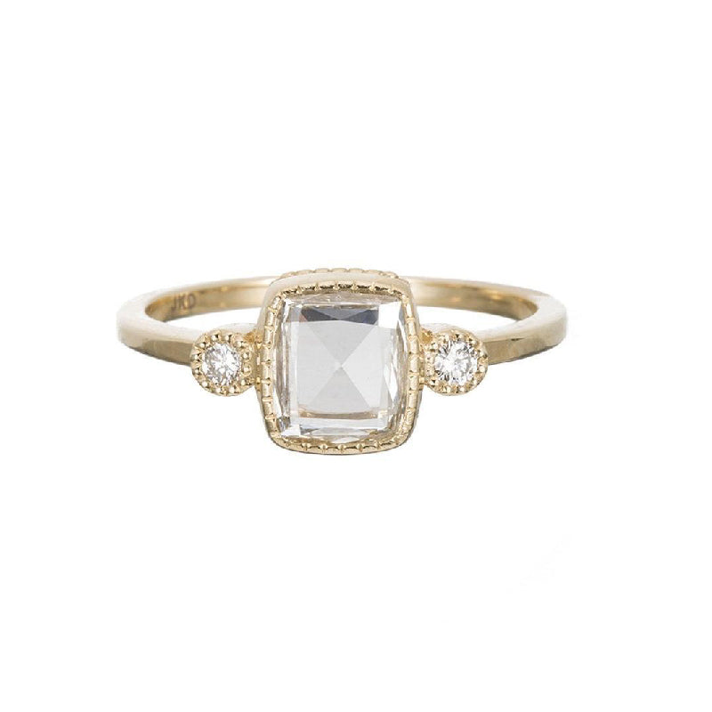 Square RC Diamond Elevate Ring