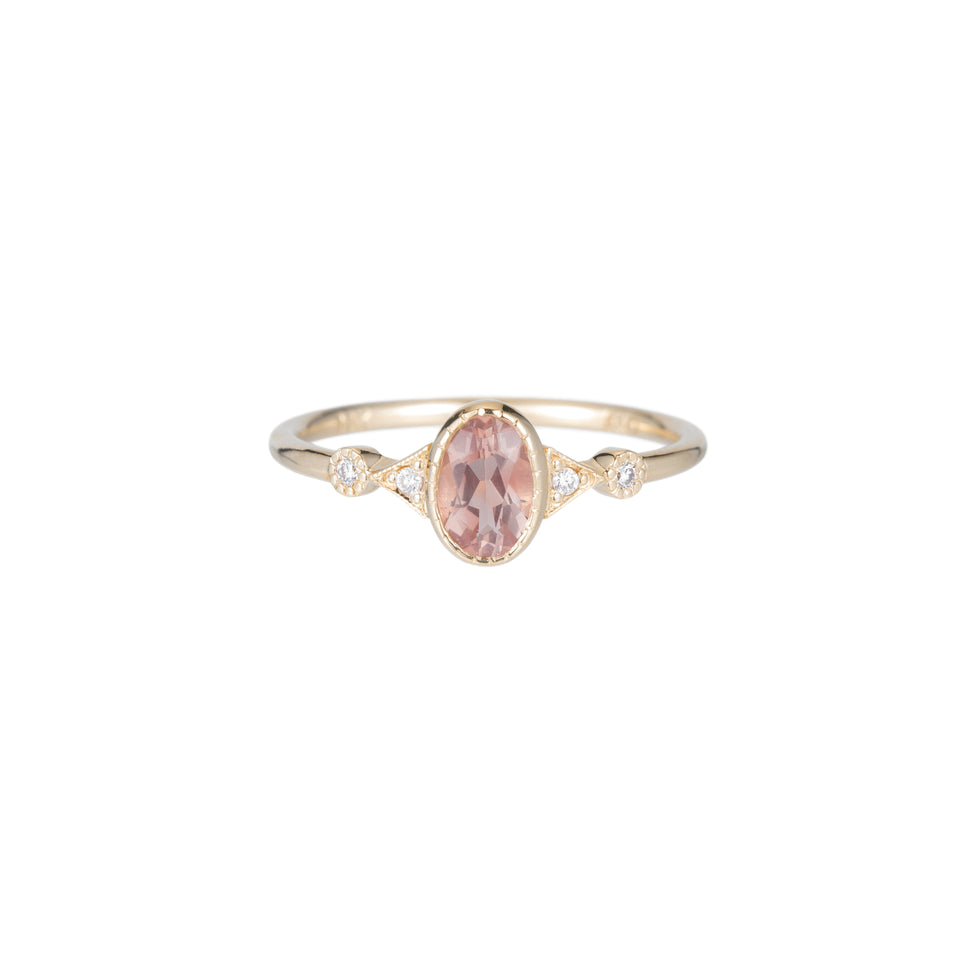 Sunstone Duo Deco Ring