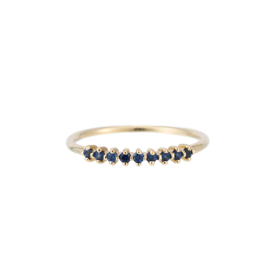 BLUE SAPPHIRE LACE RING