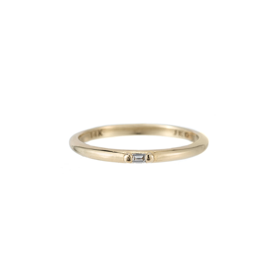 DIAMOND BAGUETTE ACCENT RING