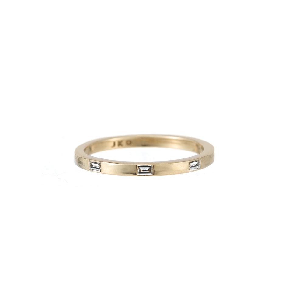 DIAMOND BAGUETTE DOT BAND